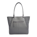 Fashion Women Suede Joint Leather Shoulder Handbags