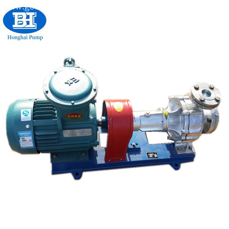 Stainless Steel Electric Industrial Centrifugal Hot Oil Pump