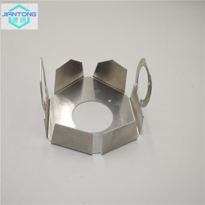 laser cutting aluminum heatsink with bending and punching