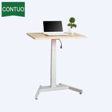 Professional factory selling for One Leg Standing Desk,Adjustable Computer Table,Adjustable Height Table Manufacturers and Suppliers in China Standing Height Computer Work Table For Office Home supply to Nauru Factory