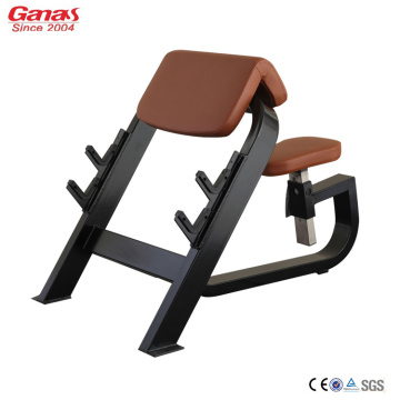 China for Fitness Club Machine Gym Fitness Luxury Machine Seated Preacher Curl supply to Japan Factories