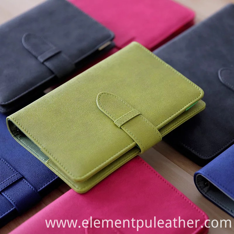Pu Synthetic Leather Diary Cover