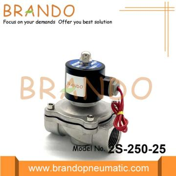 2/2 Way Stainless Steel Solenoid Valve 2S-250-25