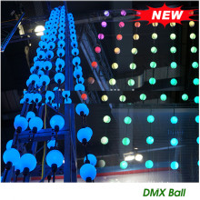Professional for 3D Led Night Light DMX 50mm 3D Ball Pixel Light strings supply to Poland Exporter