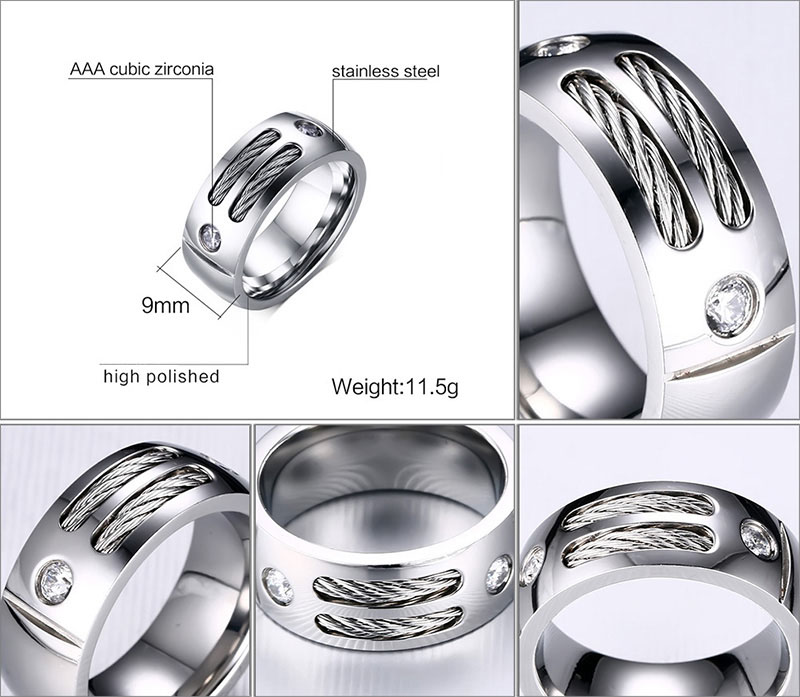 cable band ring
