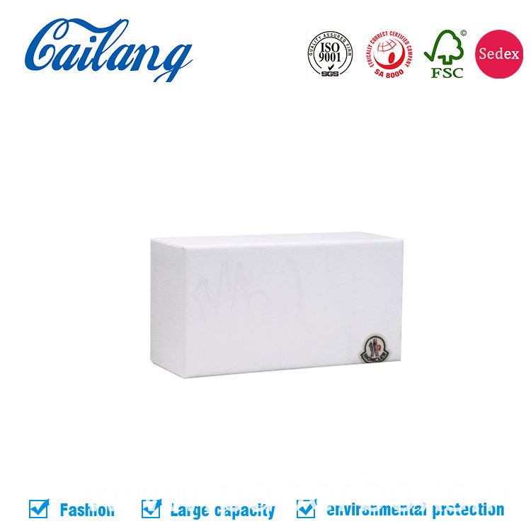 white matt 2pcs lid and base box for phone packaging