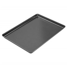 Black carbon steel cookies biscuits tray sheet pan