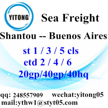 Shantou Sea Freight Shipping Agent to Buenos Aires
