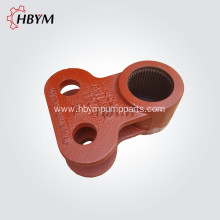 Leading for Schwing Slewing Shaft Schwing Concrete Pump Spare Parts Slewing Lever supply to Qatar Manufacturer