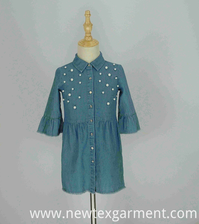 fashion grils shirt dress