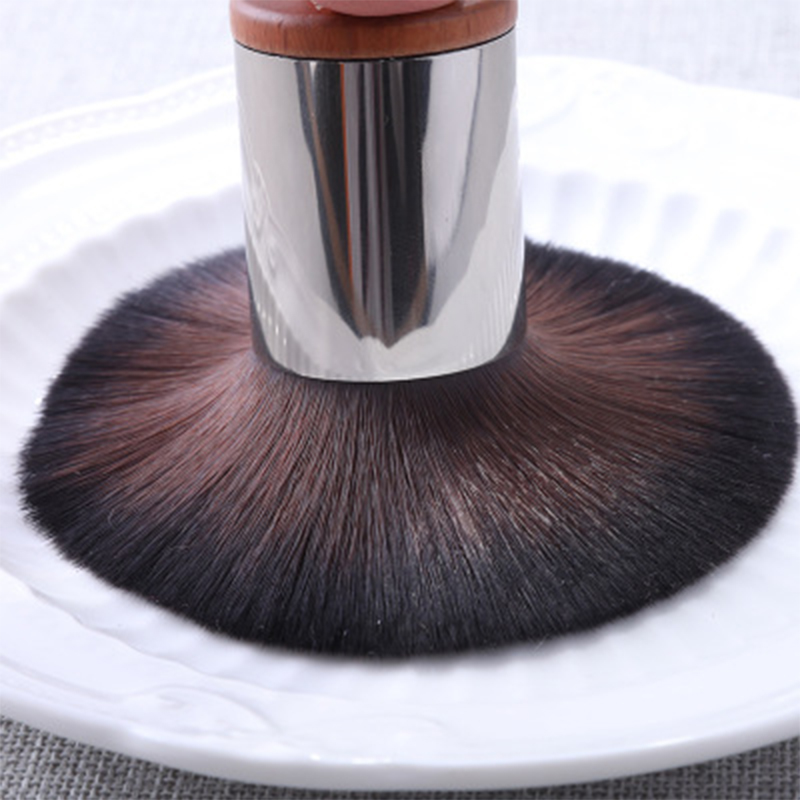 soft synthetic fiber brush