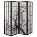 4-panel Folding Room Shoji Screen Divider