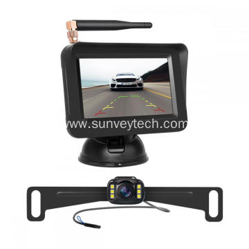 Rear View Monitor System Wireless