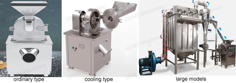 powder flour grinding machine