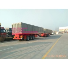 3axles container trailer of sinotruk cimc