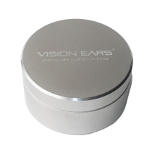 Silver aluminum case for In ear Monitor