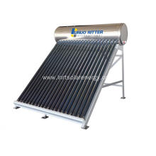 SUS 304 non pressurized solar water heater