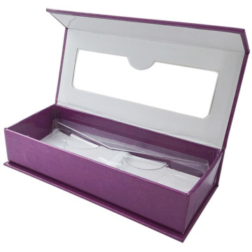 Eyelash Magnetic Custom Box with PVC window