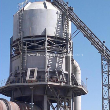 Vertical Preheater For Lime Production Process