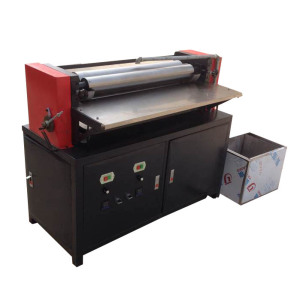 Hot melt Upper side Sheet Gluing machine