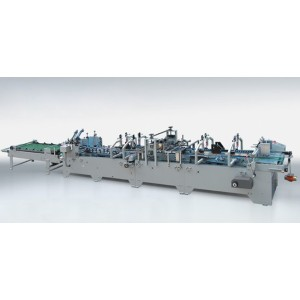 Lock-Bottom Automatic Folder Gluer