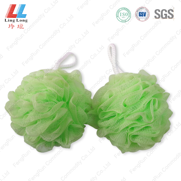 Squishy soft bath mesh sponge ball