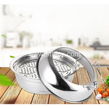 High Quality Stainless Steel Thickening Steamer Pot