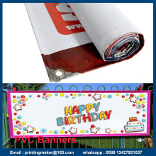 13 oz Vinyl Banners with Hem and Grommets