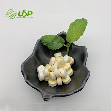 Factory price natural lemon stevia tablets mint