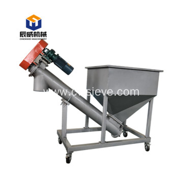 carbon steel coal dust screw conveyor enquiment