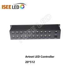 30Universe DMX LED Artnet controller with Madrix