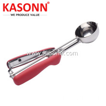 Leading for Steel Fruit Scooper Large Premium Cookie Scoop with Good Grips export to Guam Exporter