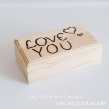 Custom Personalized Wooden Box, Wood Gift Box, Engraved Box