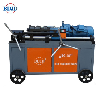 Anchor bolt threading machine