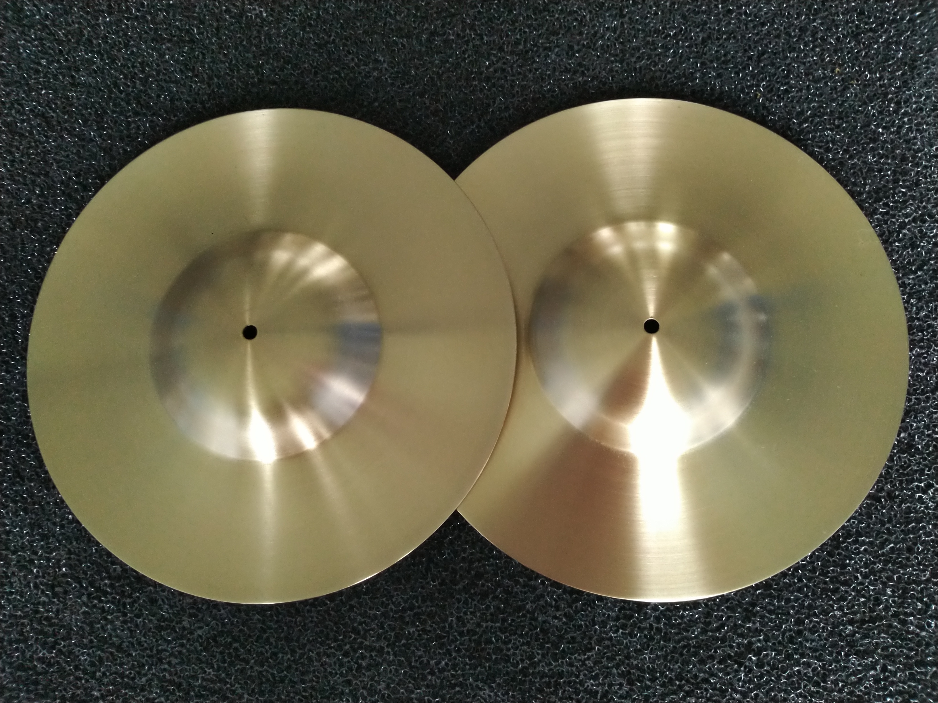 Brass Pulse Cymbals