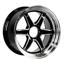 Aluminum Milled Staggered Wheels