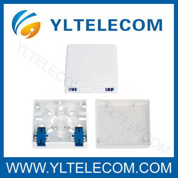 Factory Price for FTTH Cabling Accessories , Fiber Duct Plug , Fiber Optic Wall Tube , Fiber Pipe Joint Box , Nail Clips , Fiber Optic Cable Manufacturers , Fiber Optic Cable Connectors Fiber Optic Mounting Box 2Port export to Reunion Factory