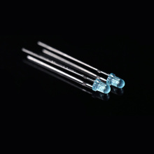 455nm 3mm Blue LED 80-degree High-temperature Resistance