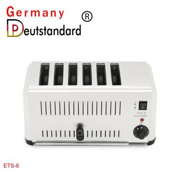 6 slice bread toaster machine factory price