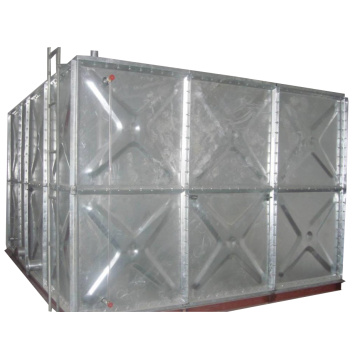 Industrial Hot Dip Galanized Steel Water Tank