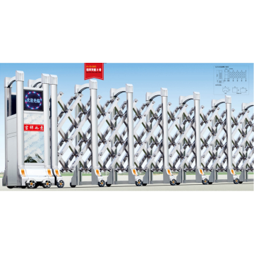 Automatic Electric Stainless Steel Retractable Folding Gate