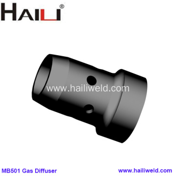 501D Gas Diffuser Black DMC