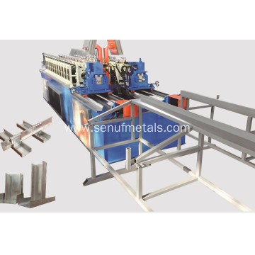 automatic high speed light keel roll forming machine