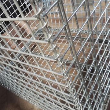 Folding Steel Wire Mesh Pallet Stillage Cage