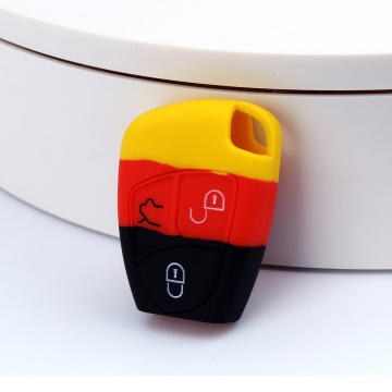 Soft Silicone Key Case for Mercedes