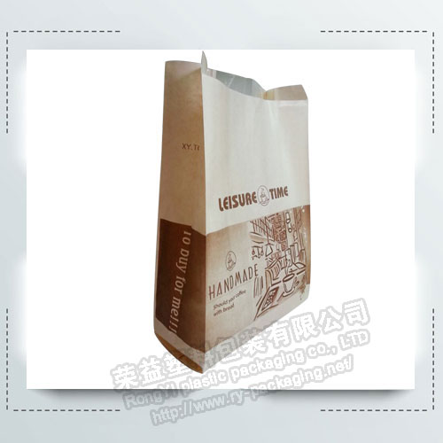 Bread Packaging Kraft Paper Bags for Food