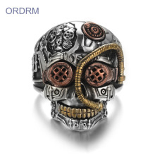 New Fashion Design for China Skull Ring,Crystal Skull Ring,Vintage Skull Ring Manufacturer Wholesale Custom Skull Rings For Men export to Japan Suppliers