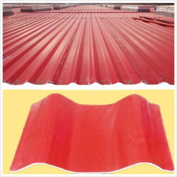 Heat Resistant PET Membrane Mgo Roofing Sheets