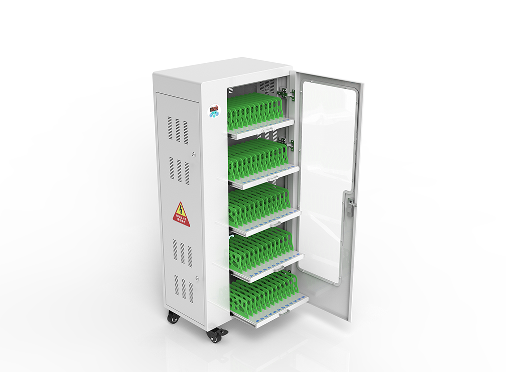 UV lamp tablet charging carts