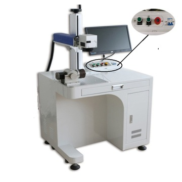 Cheap Price Desktop Raycus Fiber Laser Marking Machine